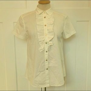 Marc by Marc Jacobs Cotton Shirt- Size XS